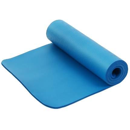 Коврик для фитнеса и йоги  Larsen NBR синий р183х61х1,5см