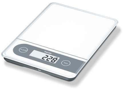 Весы кухонные Beurer KS 59 XXL White