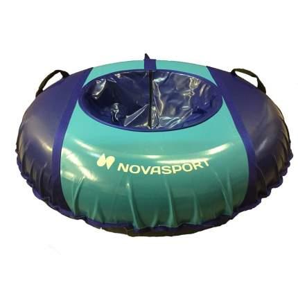Санки надувные 125 см тент без камеры NovaSport синий