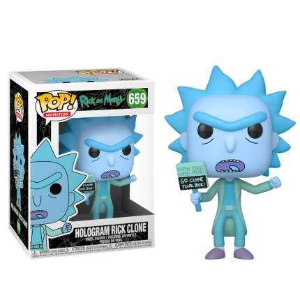 Фигурка Funko POP! Animation Rick and Morty: Hologram Rick Clone