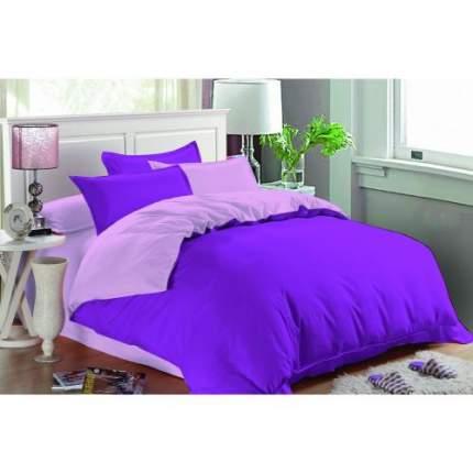 Комплект постельного белья двуспальный-евро Amore Mio, Гранат
