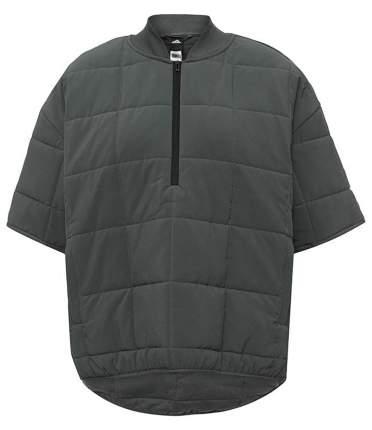 Куртка Adidas Ic Paddedsweat Half Zip, серый, S