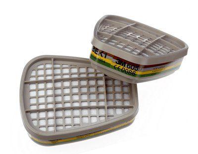 Фильтр для защиты от газов и паров 3M™ 6059, ABEK1, 1 пара