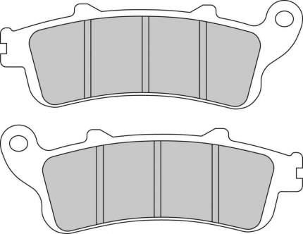 Тормозные колодки передние/задние Ferodo FDB2098ST для мотоциклов