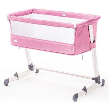 Детская приставная кроватка Nuovita Accanto Rosa/Розовый