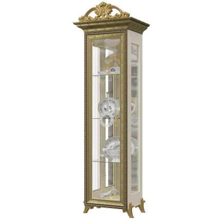 Платяной шкаф Мэри-Мебель Версаль ГВ-01К 1073094 66х48х216, слоновая кость
