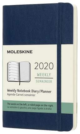 Еженедельник MOLESKINE Classic WKNT Pocket DSB2012WN2 Синий сапфир