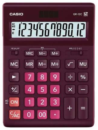 Калькулятор CASIO GR-12C-WR-W-EP