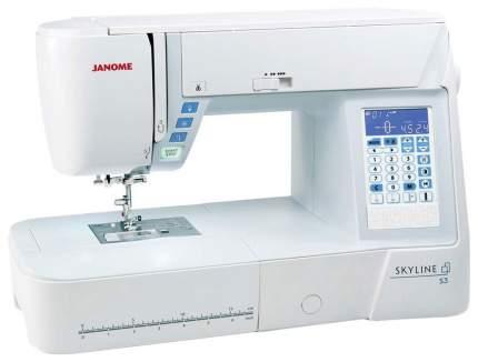 Швейная машина Janome Skyline S5 Белый