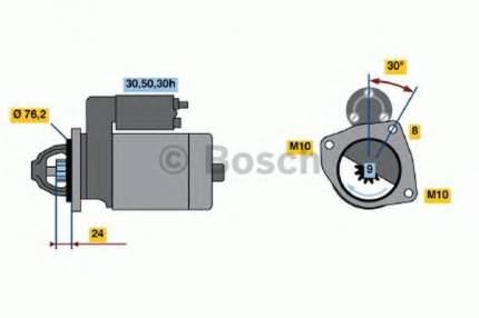 Стартер Bosch 0986017110