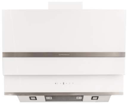 Вытяжка наклонная KUPPERSBERG F 930 W White/Silver