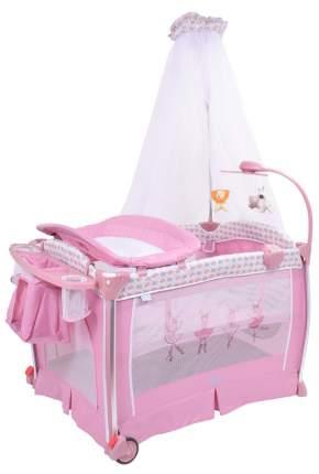 Детская кровать-манеж Nuovita Fortezza NUO_AP930_601 Rose