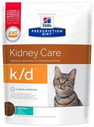 Сухой корм для кошек Hill's Prescription Diet Kidney Care, при патологии почек,тунец,0,4кг