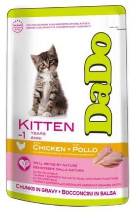 Влажный корм для котят Dado Kitten, с курицей, 24шт по 85г