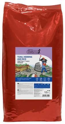 Сухой корм для собак Dailydog Casual Line Adult, тунец, сельдь и рис, 12кг