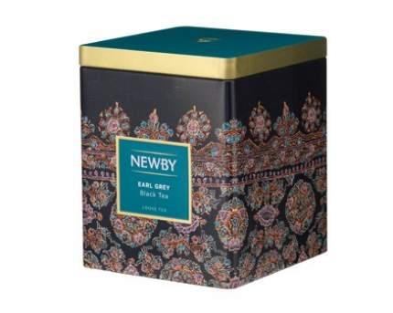 Чай черный Newby эрл грей в жестяных банках 125 г