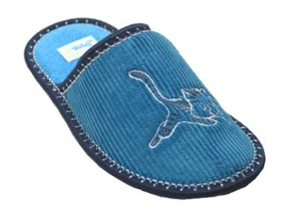 Тапочки Рапана детям голубые Котенок 33 размер