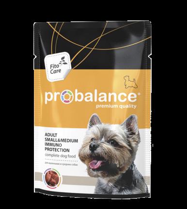 Влажный корм для собак Probalance Immuno Protection, защита иммунитета, 100 г