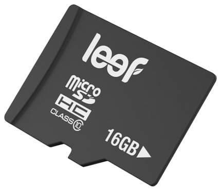 Карта памяти Leef Micro SD LFMSD-01610R 16GB