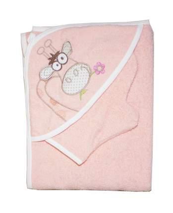 Полотенце-уголок Осьминожка с вышивкой Жираф 100х110 см