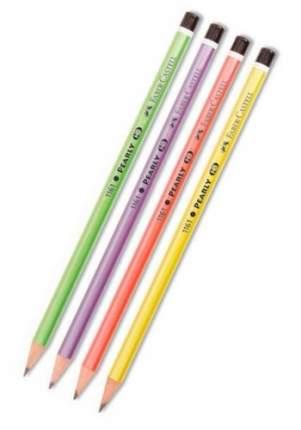 Чернографитовые карандаши Pearly, HB, в ассортименте