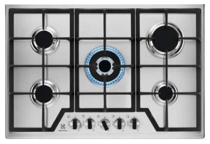 Встраиваемая варочная панель газовая Electrolux GPE373MX Silver