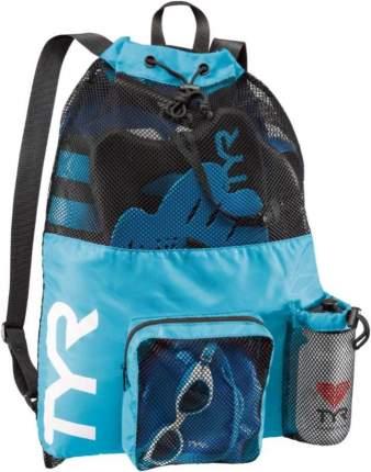 Рюкзак-сетка TYR Big Mesh Mummy Backpack голубой (420)