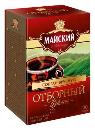 Чай черный Майский отборный листовой 100 г