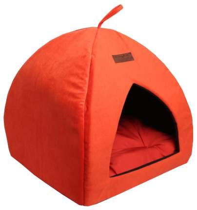 Домик для собак Lion Альмонд для собак 42x42x45 см Оранжевый