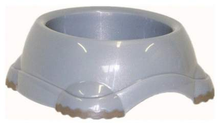 Одинарная миска для кошек и собак MODERNA, ПВХ, серый, 1.315 л