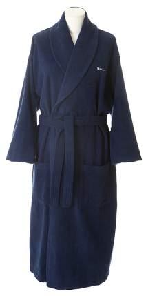 Халат Gant Home Classic 856002003 синий XL