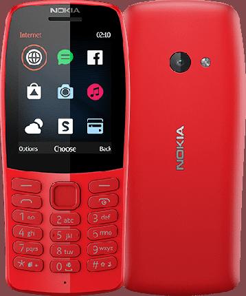 Мобильные телефон Nokia 210 TA-1139 DS Red