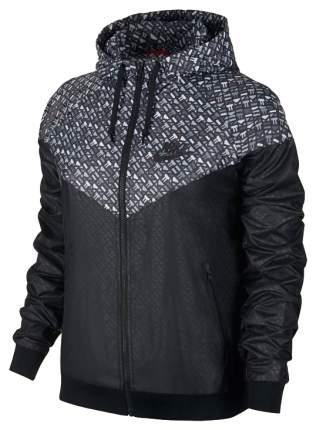 Куртка Nike Windrunner-AOP, black, S INT