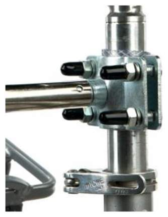 Крепеж к велосипеду Trixie Biker-Set Holder, для поводка