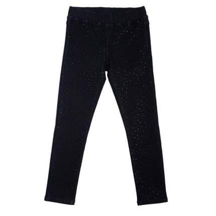Брюки текстильные джинсовые для девочек(140) , 364122 серый EAN 4690244730557