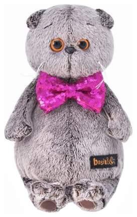 Мягкая игрушка Budi Basa Басик в галстуке-бабочке в пайетках 30 см
