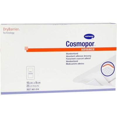 Повязка Cosmopor Advance послеоперационная стерильная самоклеящаяся 15 х 8 см 25 шт.