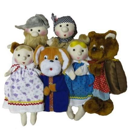Игровой набор Тайга Кукольный театр Маша и медведь 6 кукол
