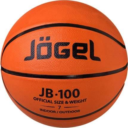 Баскетбольный мяч Jogel JB-100 №7 brown