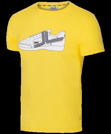 Футболка мужская Jogel JCT-5202-041, желтые/белые, S INT