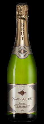 Игристое вино Charles Pelletier Reserve Blanc de Blancs Brut