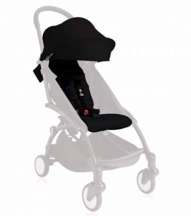Комплект в коляску Babyzen капюшон и сиденье 6+ black для yoyo+