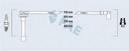 Комплект проводов зажигания FAE 85811