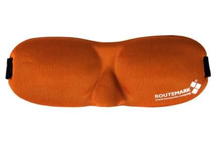 Маска для сна Routemark 3D оранжевая