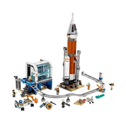 Конструктор LEGO City Космическая ракета и пункт управления запуском