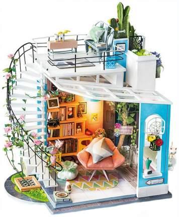 Конструктор деревянный Robotime DIY House Двухэтажный лофт Dora's Loft