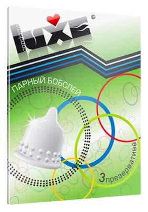 Презервативы Luxe Trio Парный Бобслей №3