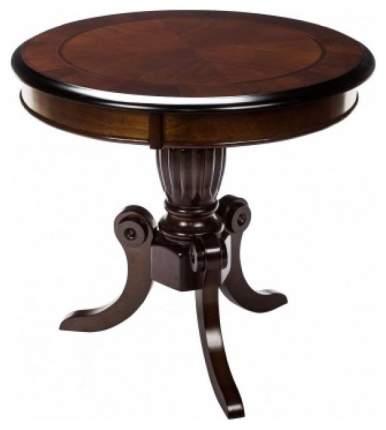 Журнальный стол Woodville 70x60 см, коричневый