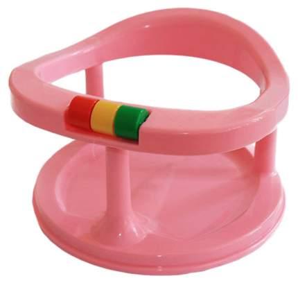 Сиденье детское для купания Папитто на присосках Розовый 117