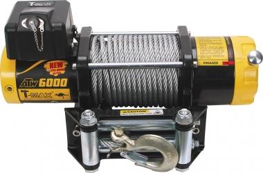 Лебедка электрическая T-Max PRO 6000 PRO 6000 12В  W0427